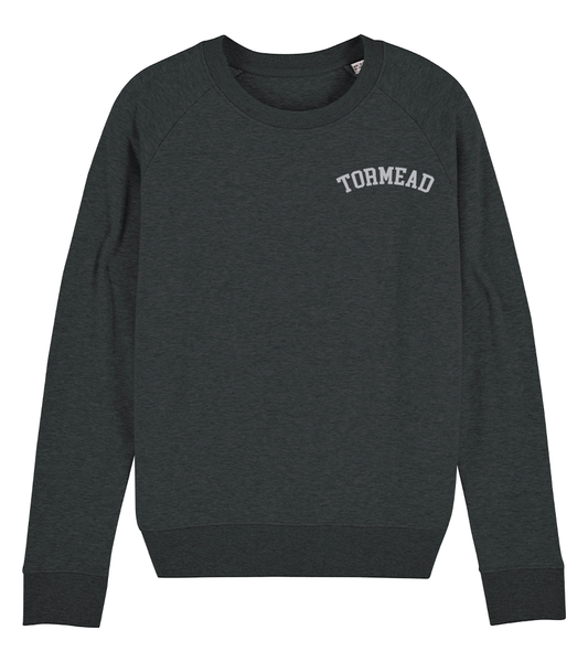 ICONIC CREST SWEATSHIRT - GREY