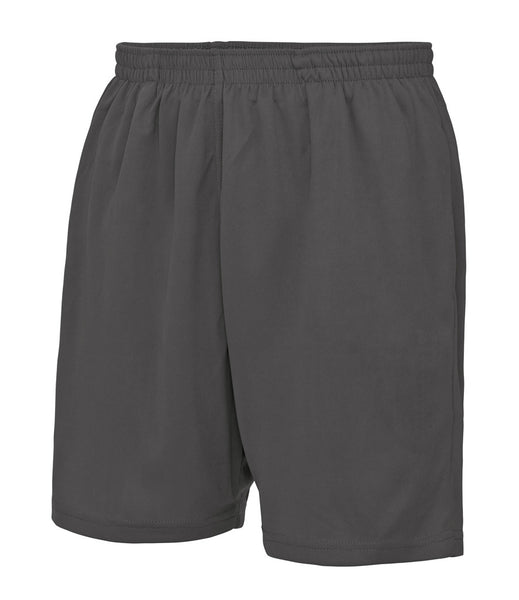 COOL MESH LINED SHORTS - CHARCOAL