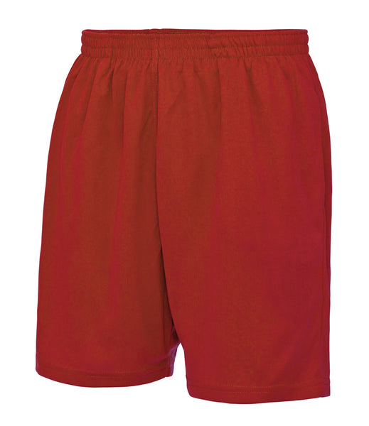 COOL MESH LINED SHORTS - RED