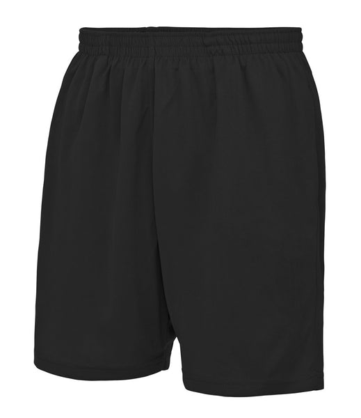 COOL MESH LINED SHORTS - BLACK