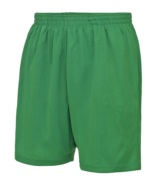 COOL MESH LINED SHORTS - GREEN