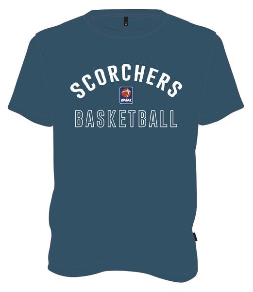 JUNIOR SCORCHERS CLASSIC T-SHIRT - BLUE