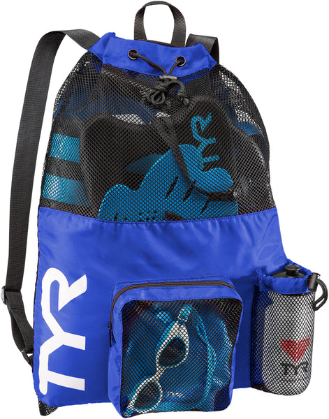 TYR BIG MESH MUMMY BACKPACK - BLUE