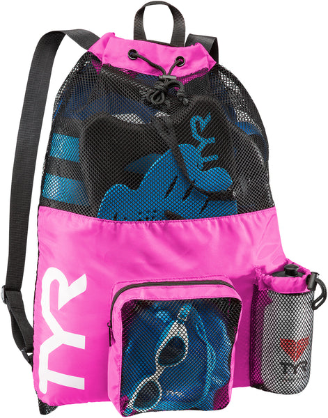TYR BIG MESH MUMMY BACKPACK - PINK