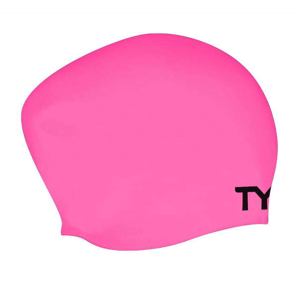 LONG HAIR WRINKLE FREE SWIMMING CAP PINK