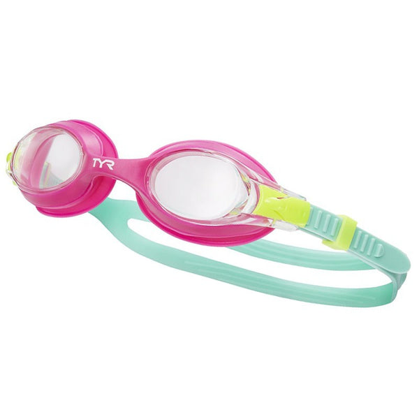TYR JUNIOR SWIMPLE GOGGLE PINK 169