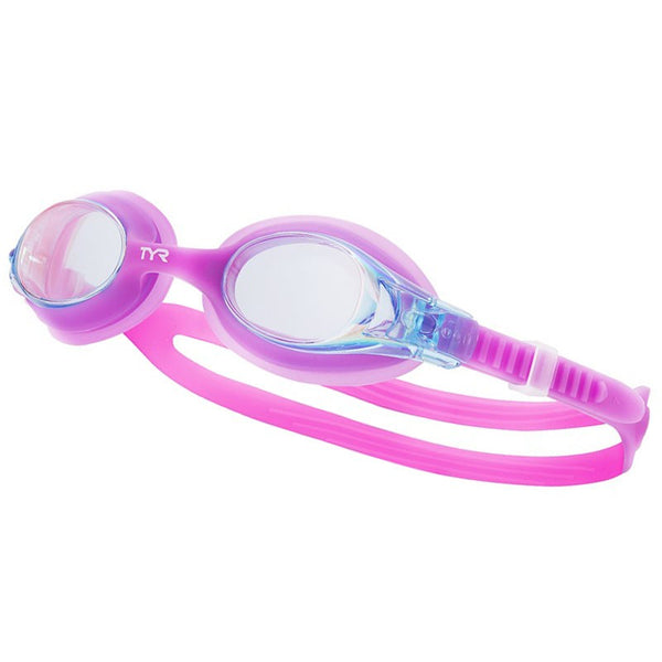 TYR JUNIOR SWIMPLE MIRROR GOGGLE PURP/PURP 479
