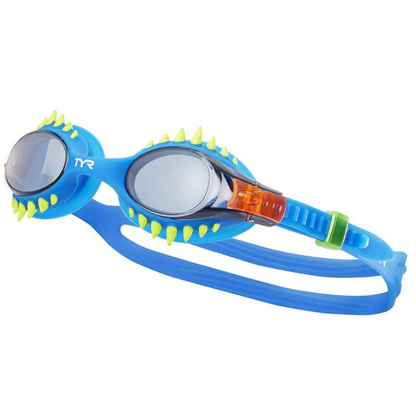 TYR JUNIOR SWIMPLE SPIKES GOGGLE BLUE 156