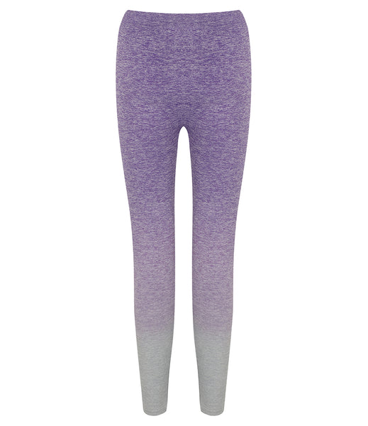 OMBRE SEAMLESS LEGGINGS - PURPLE