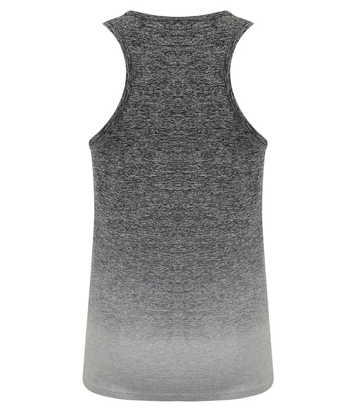 OMBRE SEAMLESS VEST - GREY