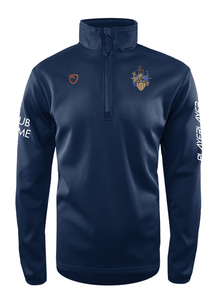 TEAM SURREY MENS 1/4 ZIP MIDLAYER
