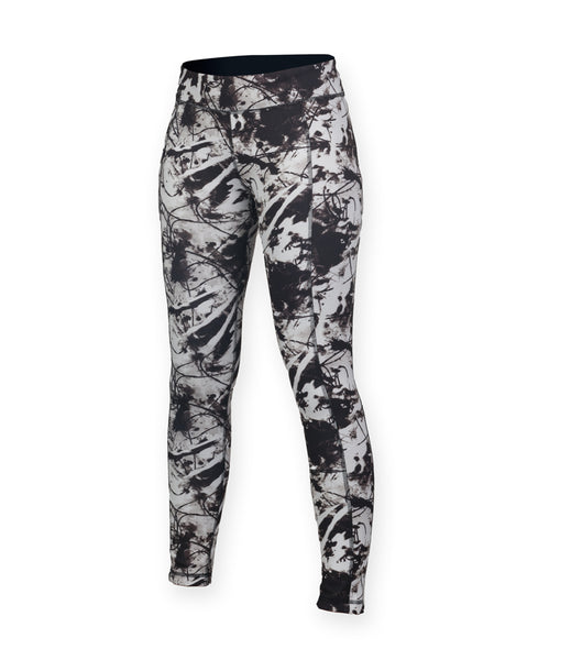 REVERSIBLE LEGGING - BLACK/PRINT