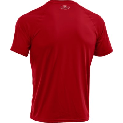 UA TECH SS TEE RED