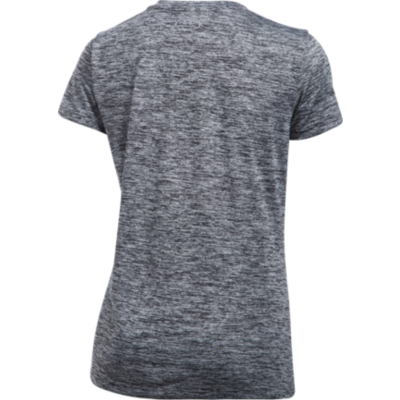 TECH TWIST V-NECK TEE - BLACK
