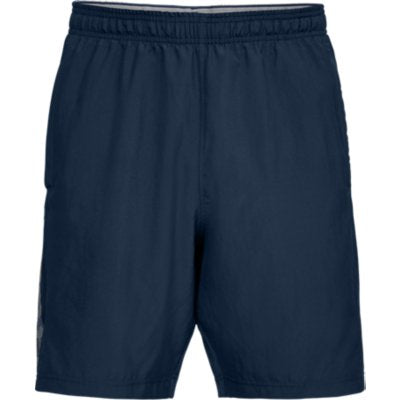 WOVEN GRAPHIC WORDMARK SHORTS - ACADEMY 408