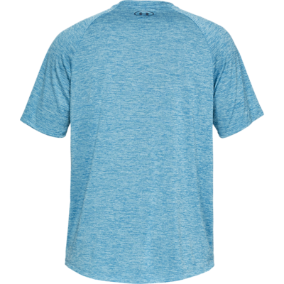 UA TECH SS 2.0 TEE - ETHER BLUE