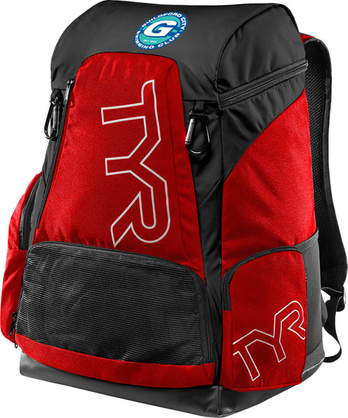 GCSC/TYR 45L BACKPACK RED