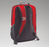 UA HUSTLE 11 BACKPACK RED