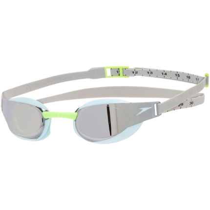 FASTSKIN ELITE MIRROR GOGGLES - GREY/SKY