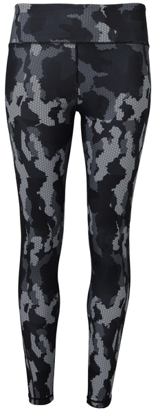 CAMO LEGGINGS - CHARCOAL
