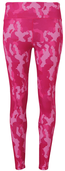 CAMO LEGGINGS - HOT PINK
