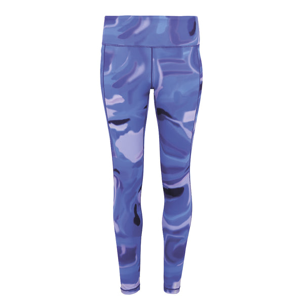 AURORA LEGGINGS - BLUE