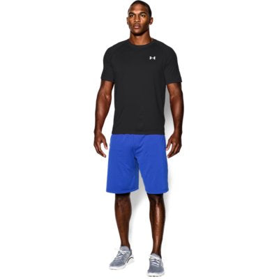 UA TECH SS TEE BLACK