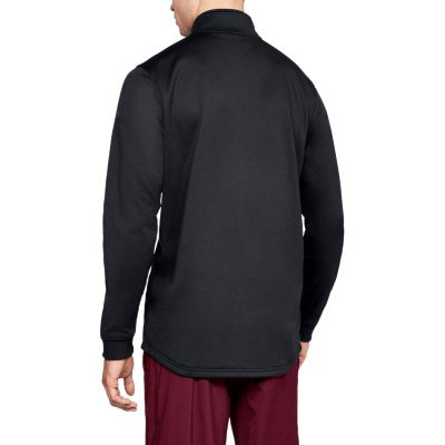 ARMOUR FLEECE 1/2 ZIP BLACK