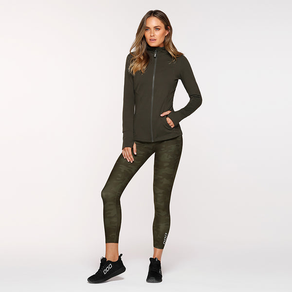 ENDURANCE ACTIVE ZIP THRU - GREEN