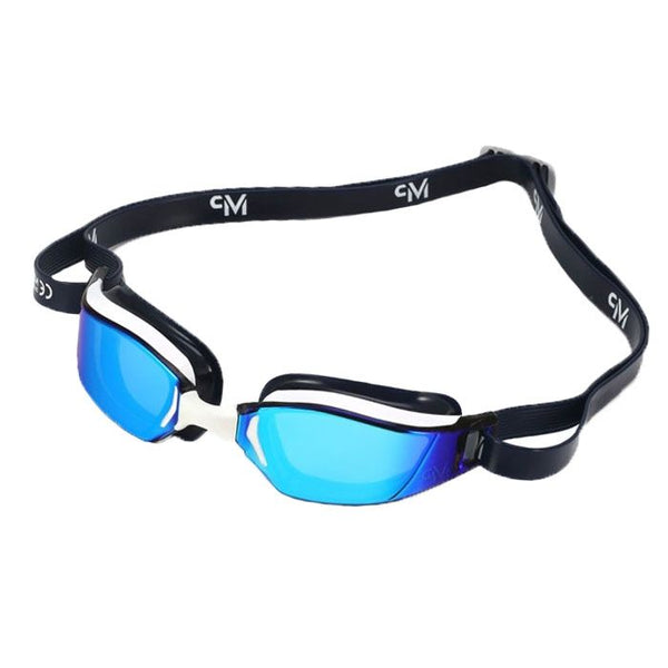 XCEED TITANIUM MIRROR GOGGLE - WHITE/BLUE/MULTI