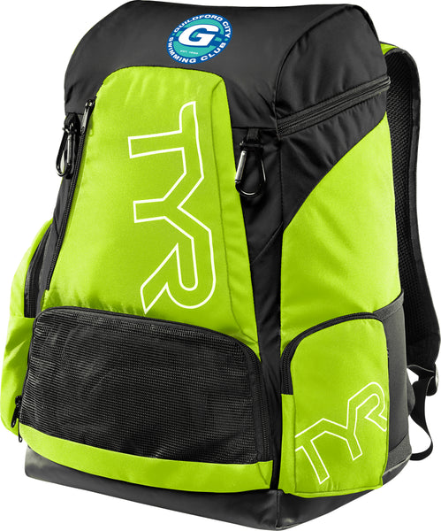 GCSC/TYR 45L BACKPACK FLURO YELLOW