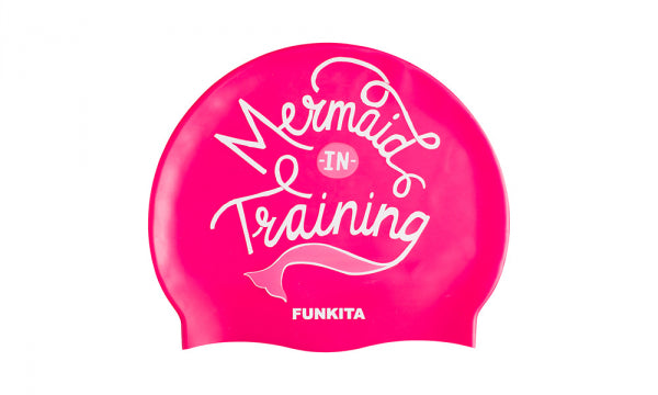 MERMAID IN TRAINING SWIM CAP