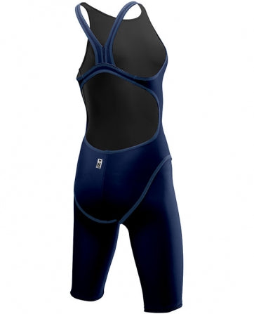 GIRLS THRESHER OPEN BACK BLUE