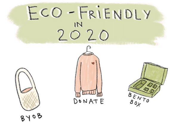 14 Simple Ways To Be More Eco-Friendly in 2020