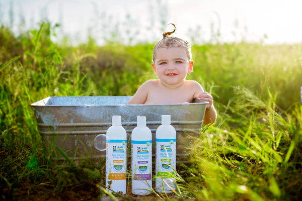 Natural & Organic Baby Body Wash & Shampoo