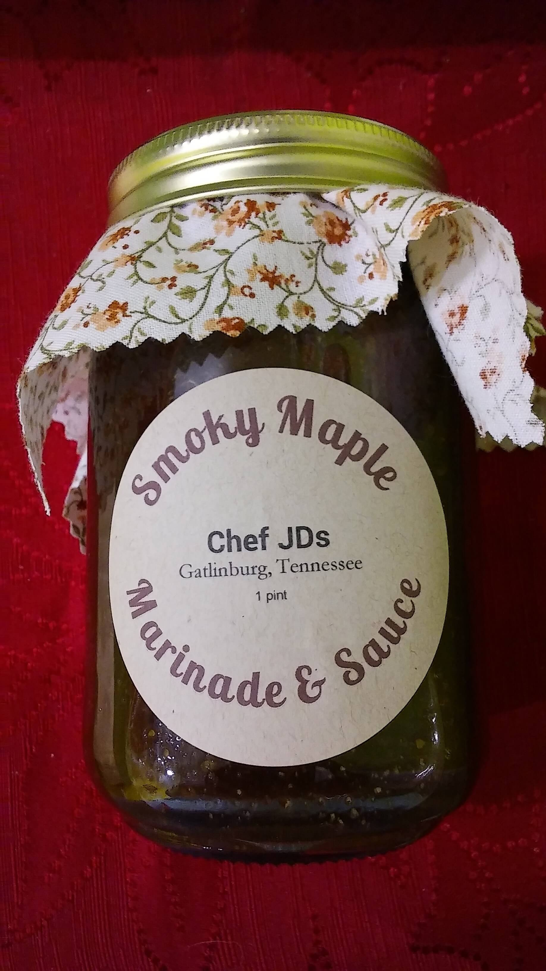 Smoky Maple Marinade & Sauce