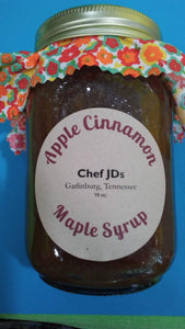 Apple Cinnamon Maple Syrup