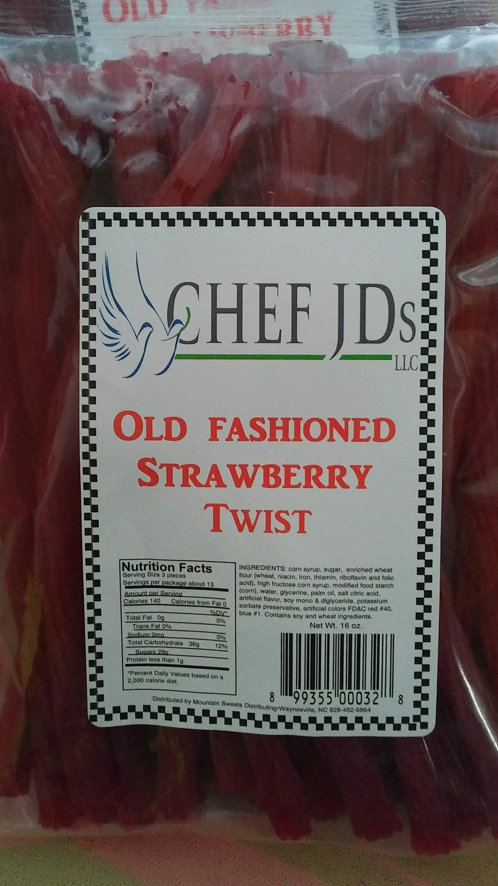 Old Fashion Strawberry Twists