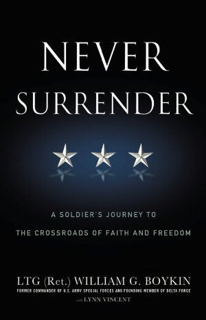 Never Surrender (non-Fiction Paperback)