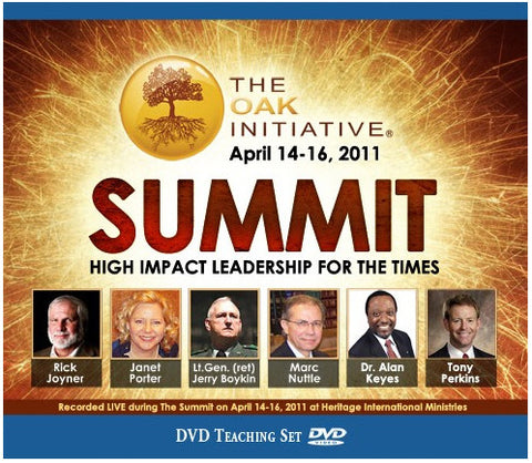 April 2011 Summit DVD Set