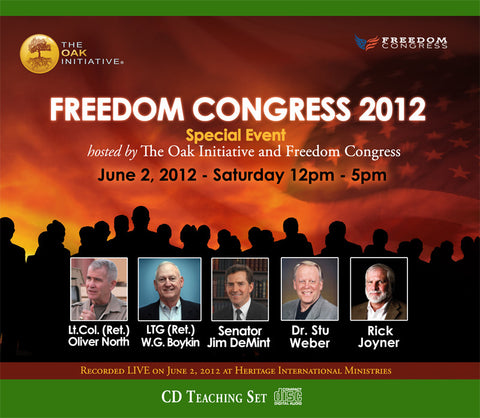 Oak Freedom Congress 2012 CD Set