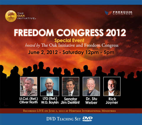 Oak Freedom Congress 2012 DVD Set