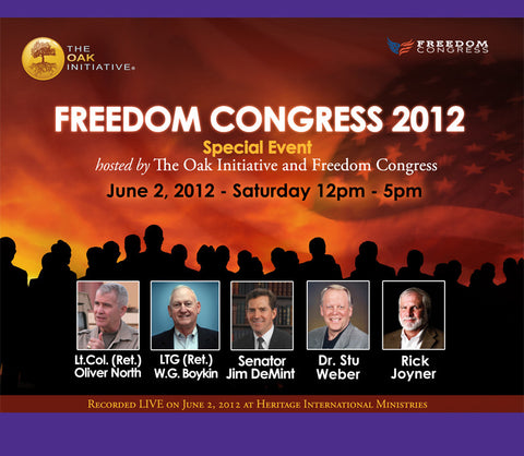 Oak Freedom Congress 2012 MP3 Set (With Player)