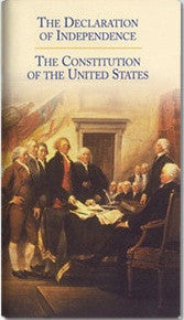 Declaration of Independence - United States Constitution (Single)