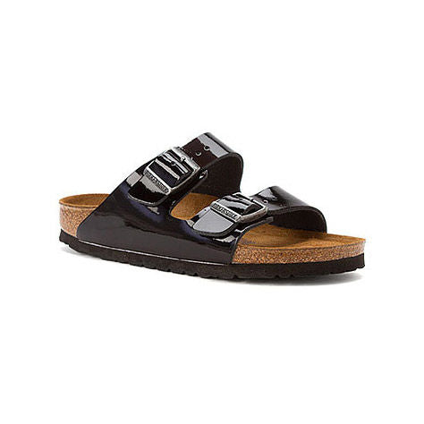 Birkenstock Arizona Soft Footbed Black Patent Leather Sandal