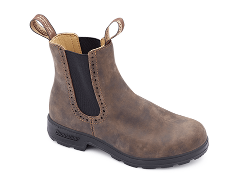 Blundstone 1351 - Rustic Brown Leather Ladies Boot (Ladies Original Series)