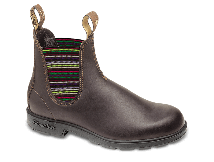 Blundstone 1409 - Brown/Multi Leather Womens Boot (500 Series)