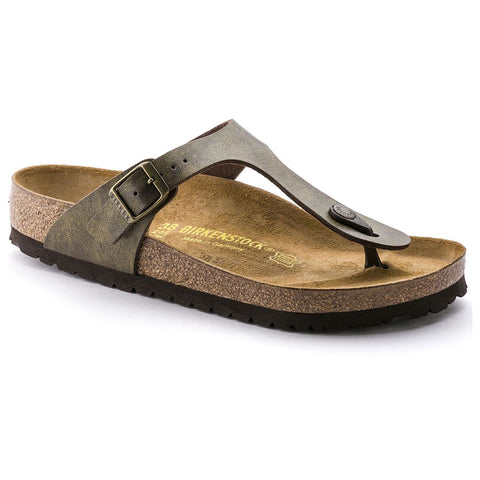 Birkenstock Gizeh Golden Brown Birko-Flor Women's Sandal