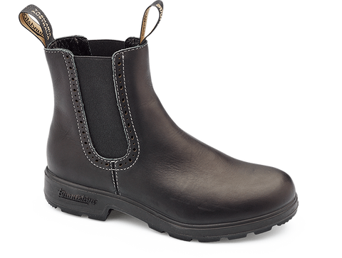 Blundstone 1448 - Voltan Black Leather Ladies Boot (Ladies Original Series)