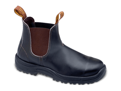 Blundstone 172 - Brown Premium Oil Tanned Leather Steel Toe Cap